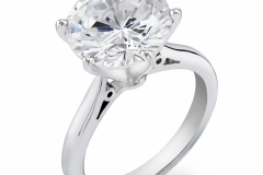 18K-Classic-Diamond-Tiffany-Setting- 3 ct Solitaire-Engagement-Ring-by-Steven-Zale