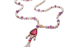 High Jewelry Ruby Necklace
