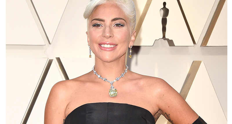 The Most Glamorous Oscar Jewels, Lady Gaga