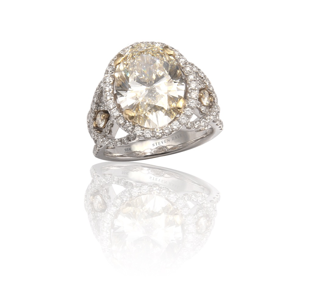 18K 5ct Diamond Ring by Steven Zale