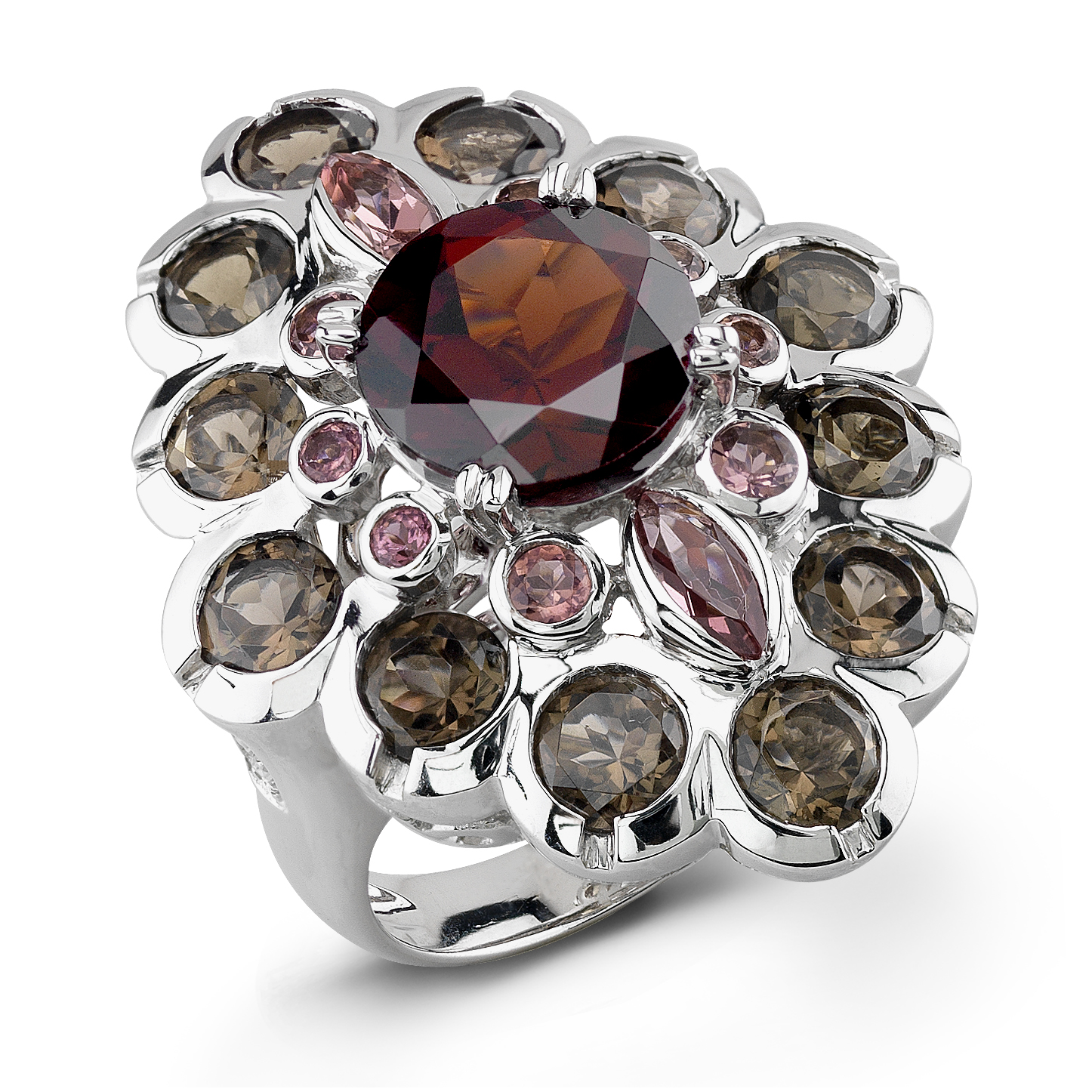 Badgley Mischka Multi Color Stone Ring by Zale