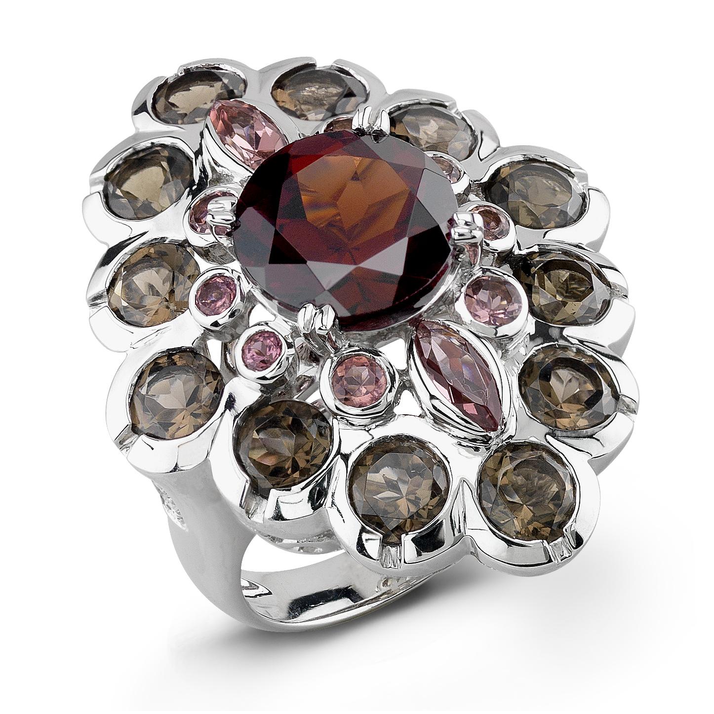 Badgley Mischka Multi Color Stone Ring by Zale