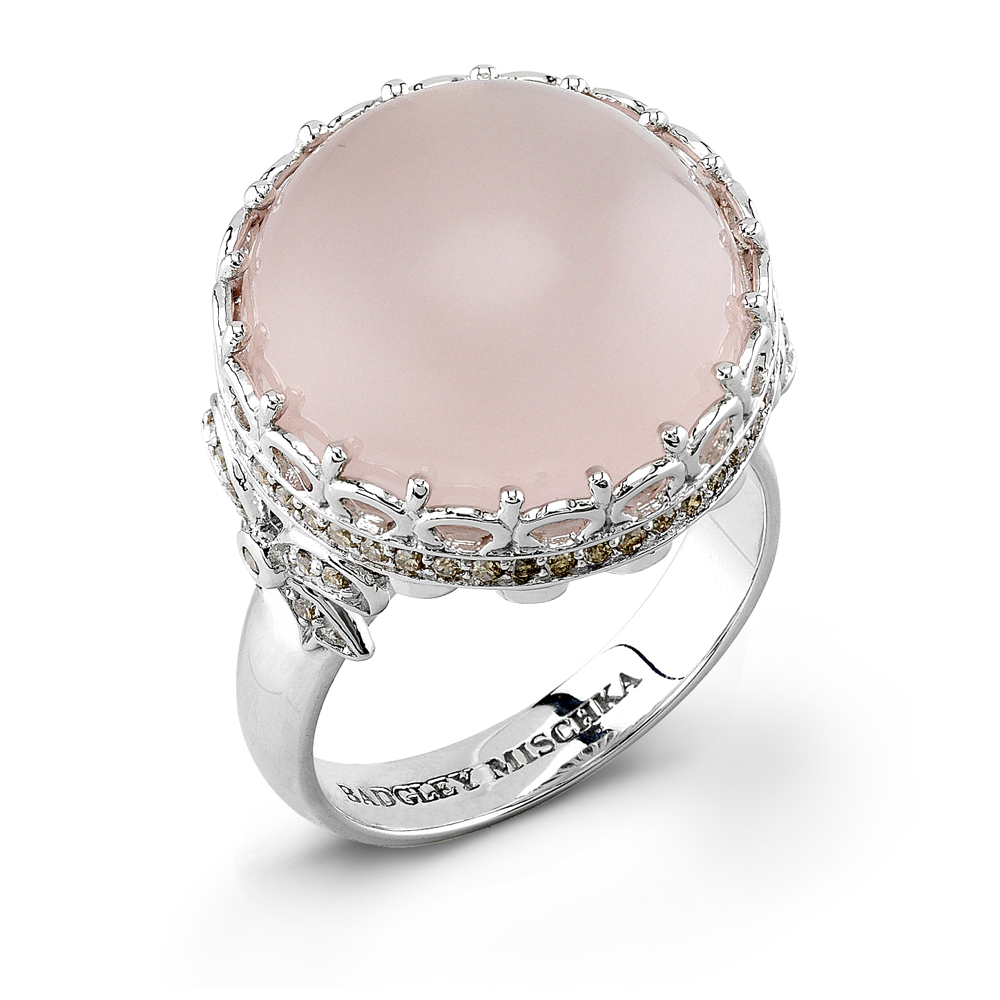 Badgley Mischka Pink Pearl Ring by zale