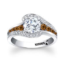 Hershey's Kiss Diamond RIng by Steven Zale