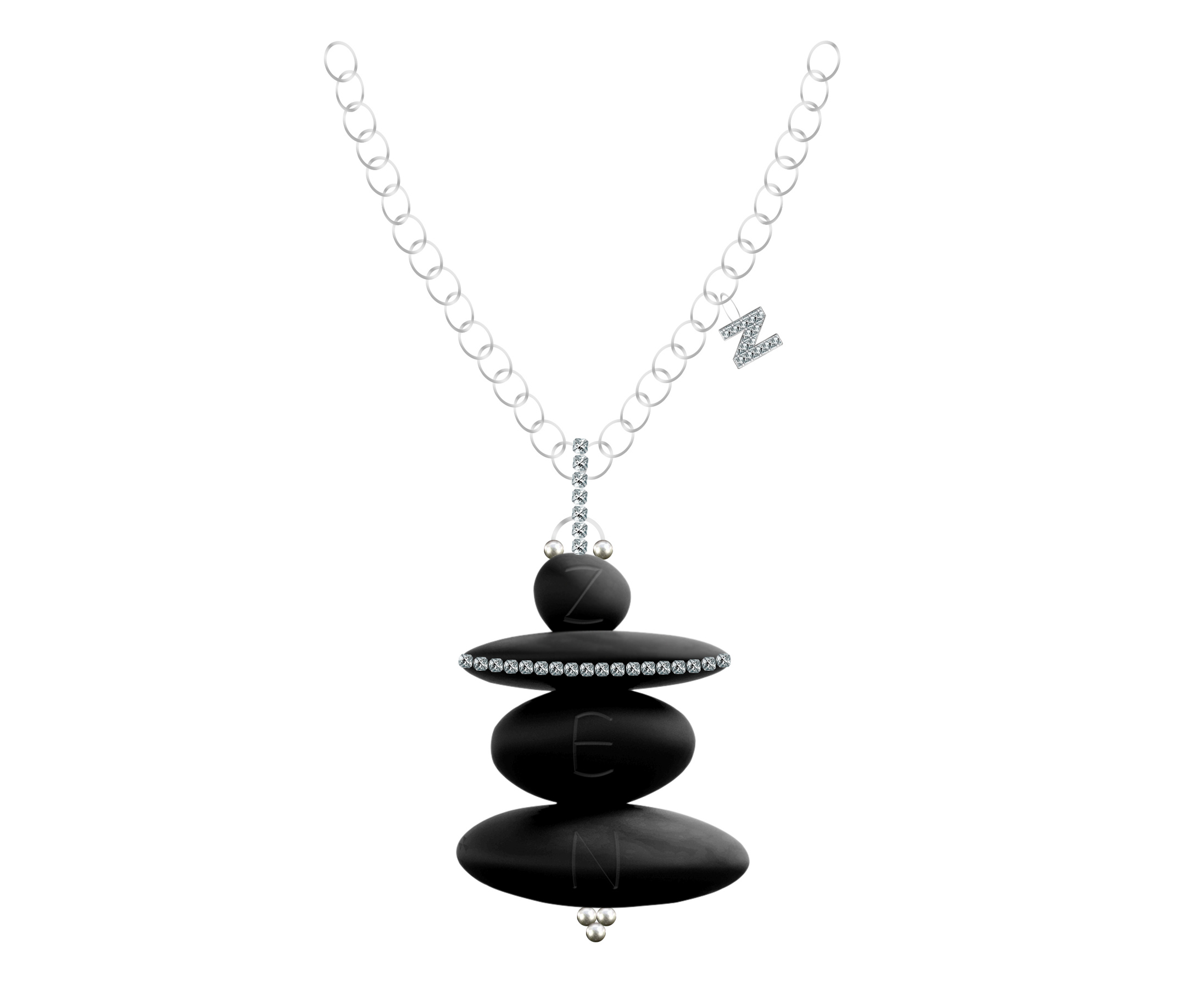 Zen Designer Necklace by Steven Zale