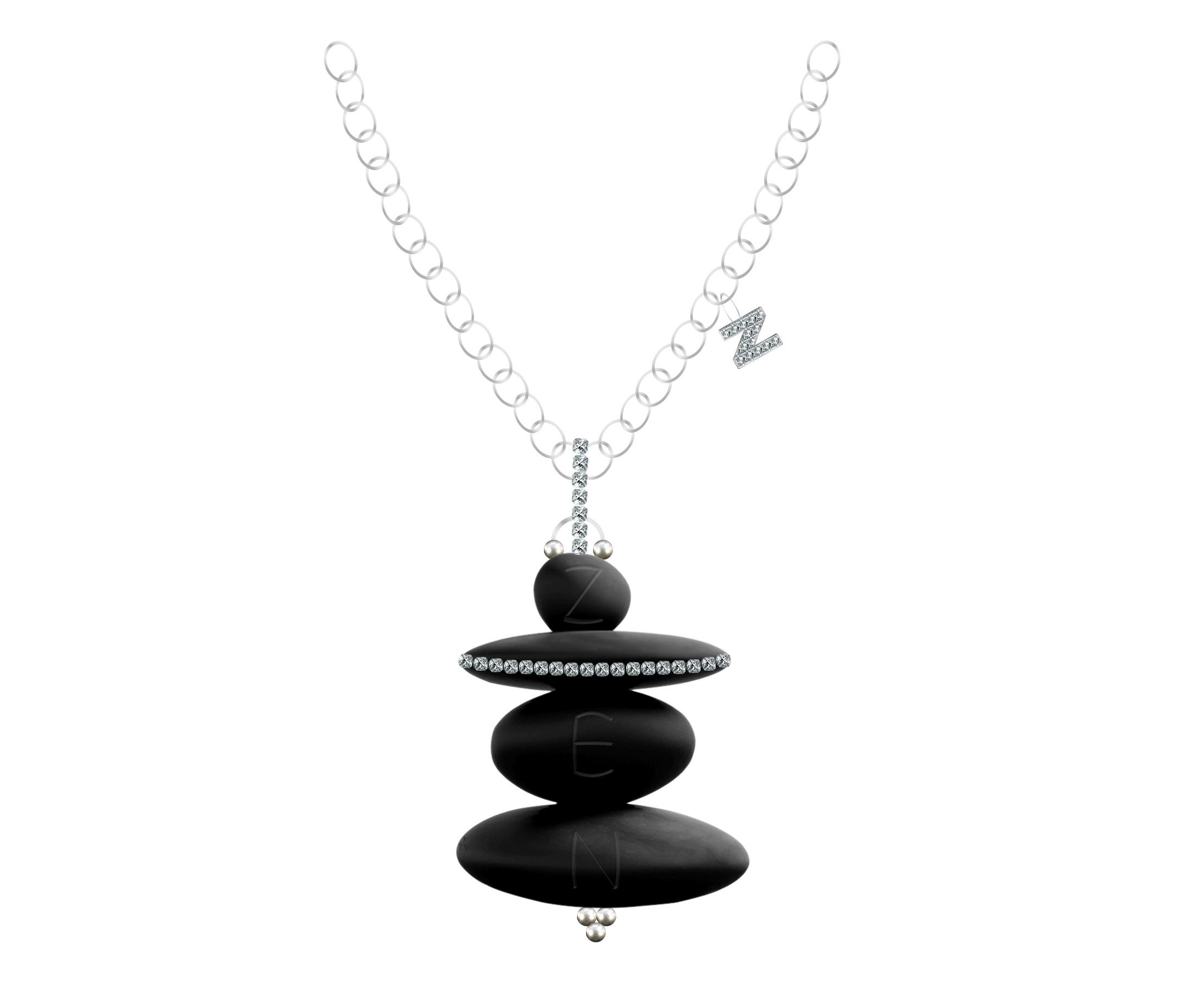 Zen Designer Necklace by Steven Zale
