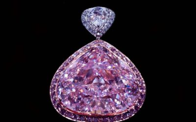 STEVEN ZALE OFFERS 28 MILLION DOLLAR RARE PINK DIAMOND