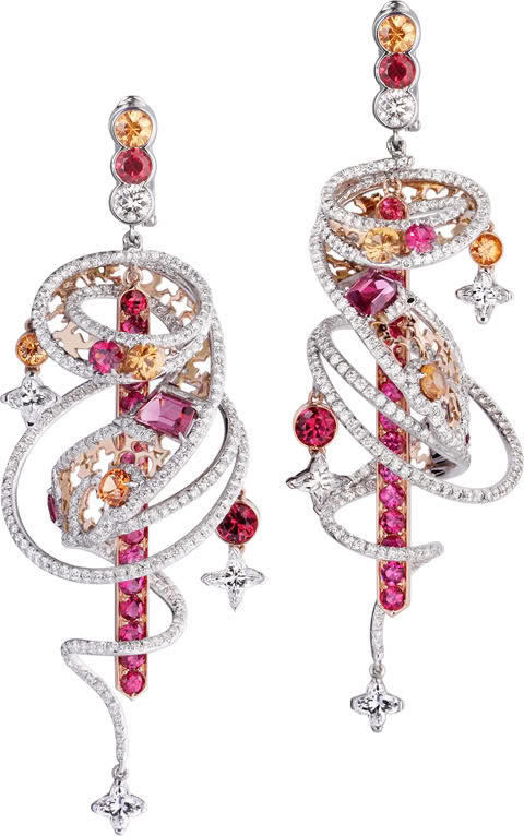 Shanghai Earrings by Louis Vuitton