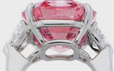 FANCY PINK DIAMONDS soared 116% in value over the past decade