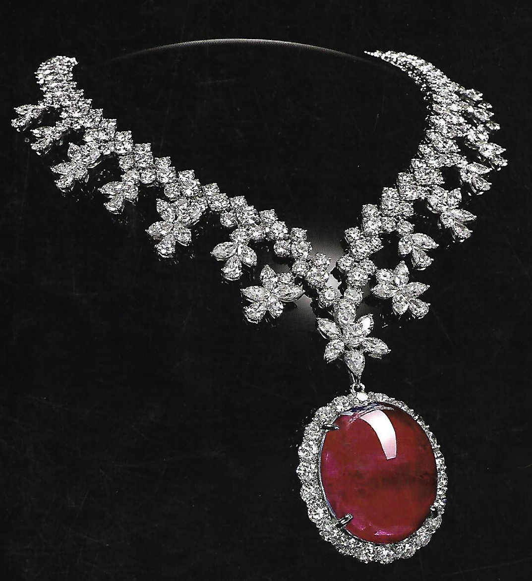 SZ Ruby Necklace New Design