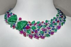 Magnificent Cartier Museum Modern Art Shanghai Necklace