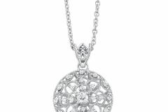 Zale-Round-Diamond-Pendant