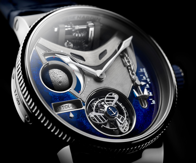 The Ulysse Nardin Marine Mega Yacht is the watch for true yacht lovers