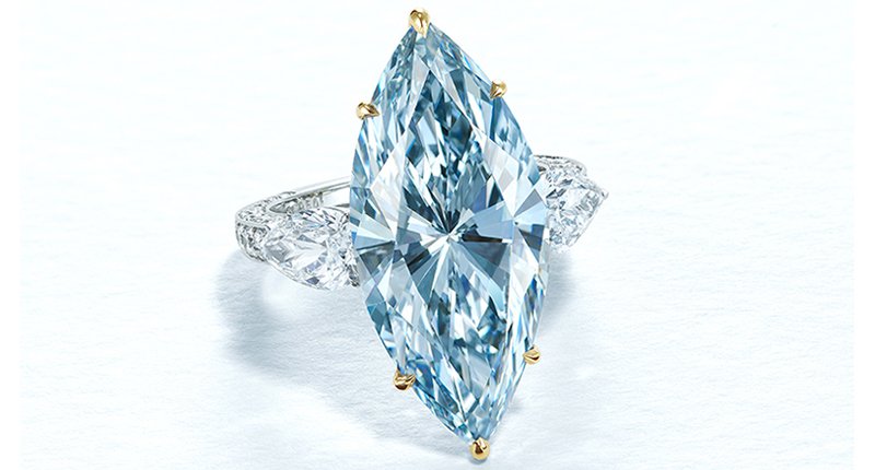 12.11 Carat Blue Diamond Sells for 16M