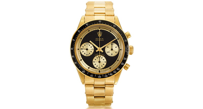 Rolex Online Auction Sets Record