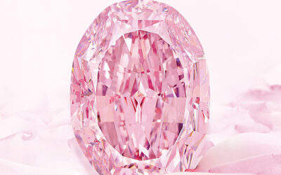 The Spirit of the Rose, the world's largest vivid purple-pink diamond.