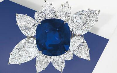 43-Carat Kashmir Sapphire Tops Auction at $6 Million