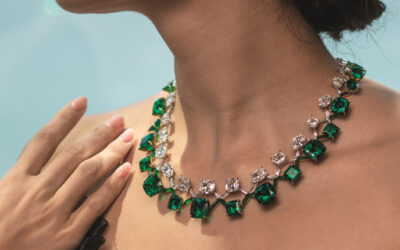 Emerald and Diamond Necklace Just Fetched $7M at Auction