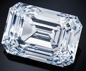 The Spectacle, a 100.94 ct. D color, internally flawless diamond!